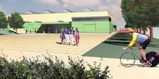 Neubau Dreifeld-Turnhalle in Passivhausbauweise, Oederan