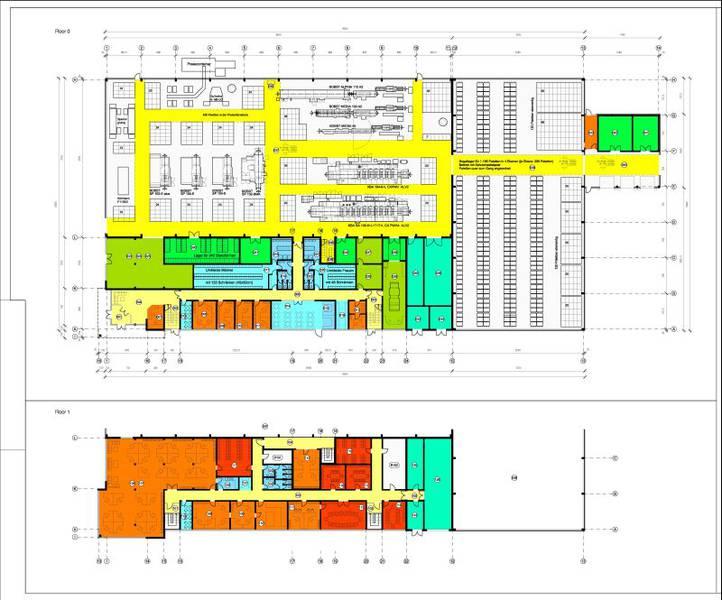 Neubau einer Produktionshalle für Verpackungsmittel Kvadra-Pak in Riga (Lettland)