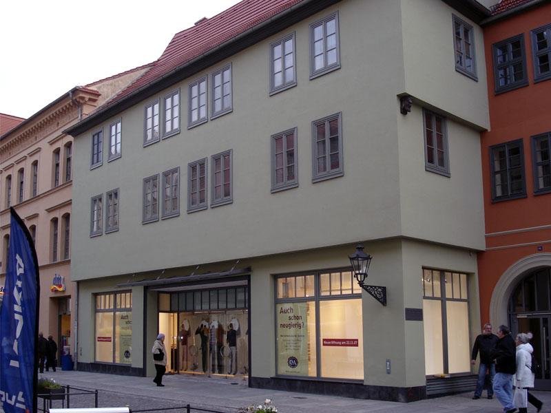 Um- und Ausbau Kaufhaus, Wittenberg