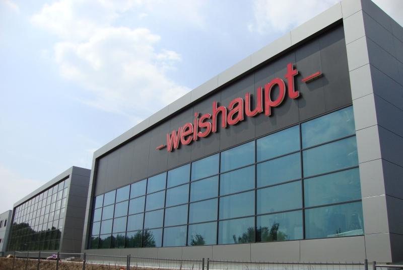 Weishaupt, Neubau Niederlassung Dortmund